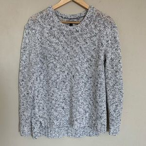 Ann Taylor Chunky Knit Speckled Heathered Sweater